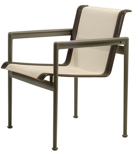 Dining Chair Height Standard Richard Schultz 1966 Collection 45h Standard Height Dining Chair With Arms Modern Planet