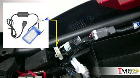 Usb Charger Vixion soket usb charger di bawah jok new vixion dan vixion r
