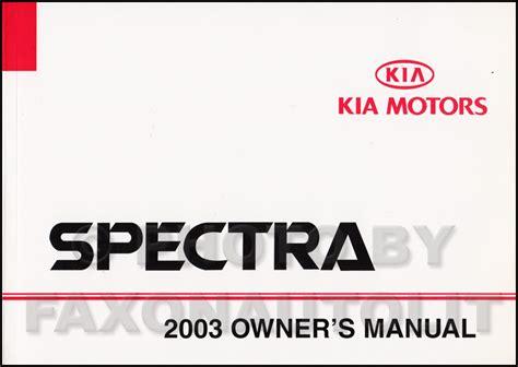 auto manual repair 2003 kia spectra electronic valve timing 2003 kia spectra electrical troubleshooting manual original