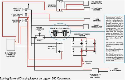 boat battery charger wiring diagram marine battery switch