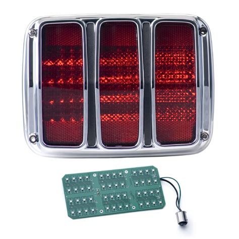 1964 1966 Mustang Led Tail Lights Dakota Digital Lat