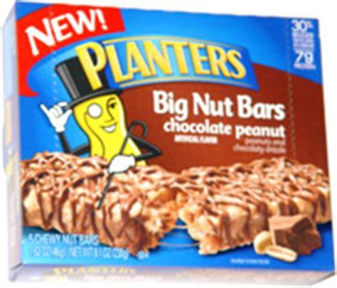 Planters Nut Bars by Planters Big Nut Bars Chocolate Peanut