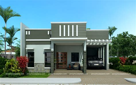 Parapet House Plans Edwardo Model Is A One Story House Plan With Parapet Design Roof The Roof Ideas For