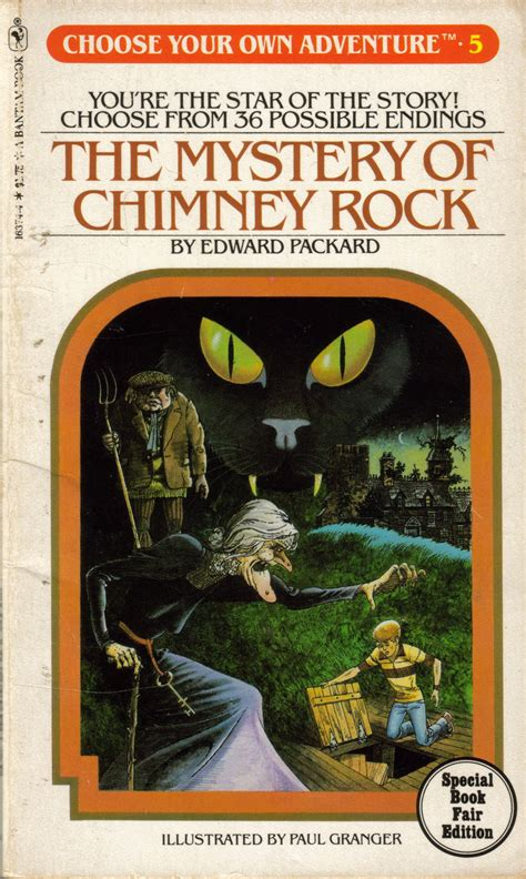 the rocks books item the mystery of chimney rock demian s gamebook web