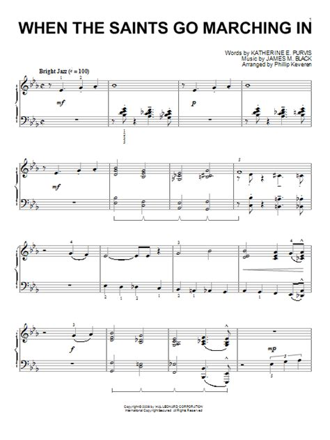 swinging with the saints lyrics louis armstrong when the saints go marching in sheet music