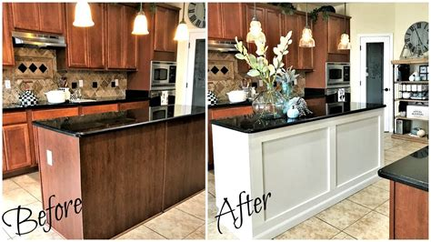 kitchen island makeover ideas home improvements diy kitchen island makeover