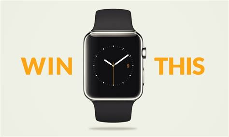 Apple Watch Giveaway - giveaway win an apple watch closed cool material