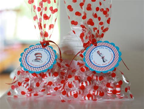 Dr Seuss Baby Shower Favors by 12 Dr Seuss Cat In The Hat Theme Birthday Or Baby