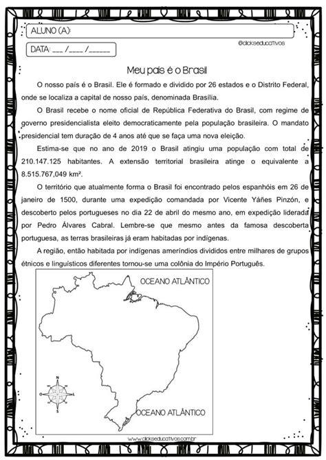Atividades de Geografia 4º ano - Clicks Educativos