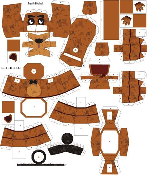 Papercraft Costume - 64 best fnaf papercraft images on papercraft