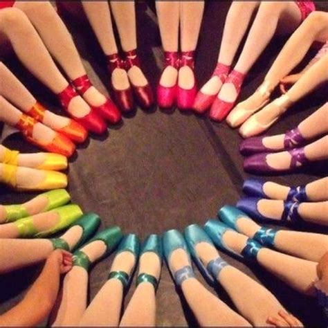 rainbow pointe shoes always wished i bought coloured