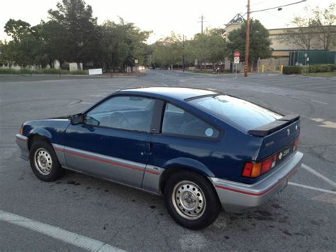 1984 honda cr x owners manual transmition drain and refiil find used 1984 honda civic crx