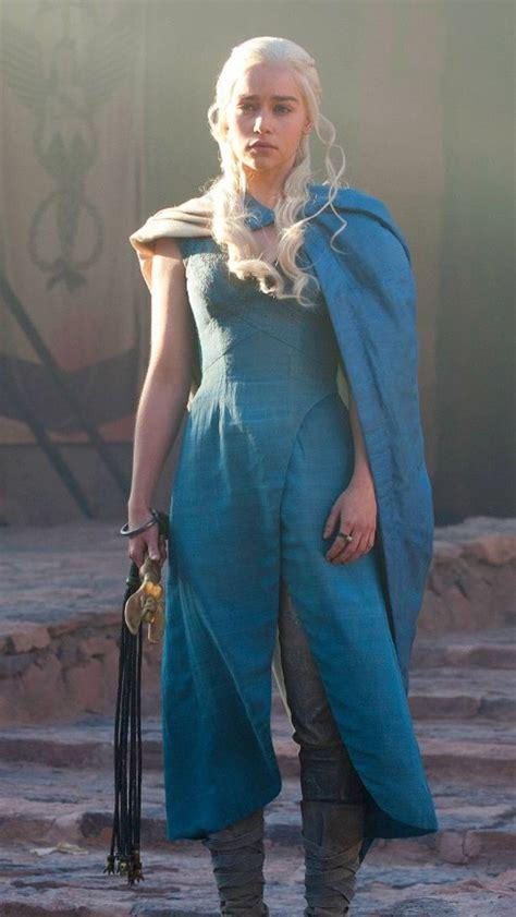 hot themes for s3 daenerys targaryen season 3 blue dress cosplay ideas