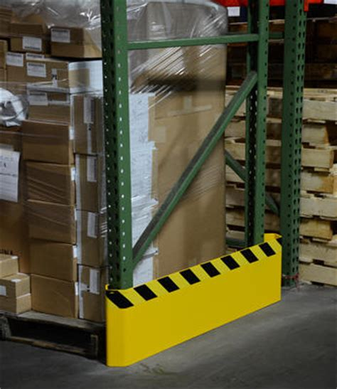Yellow Jacket Rack Protectors by Vestil Pallet Rack End Guards