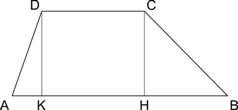 il triangolo no testo area trapezio scaleno