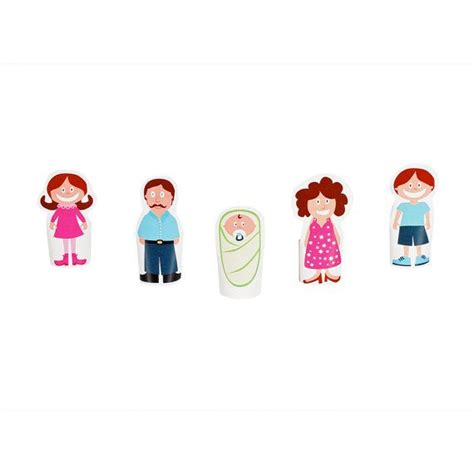 Finger Puppet Family finger family paper finger puppets printable pdf