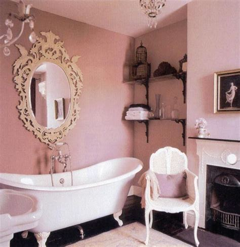 pink in bathtub pink bathroom apartment therapy