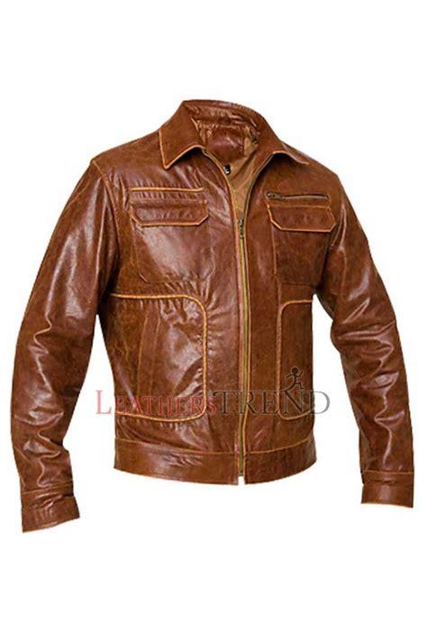 boston vintage leather jacket