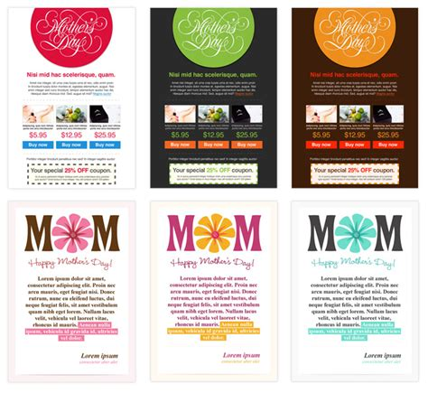 new mother s day templates to boost your sales