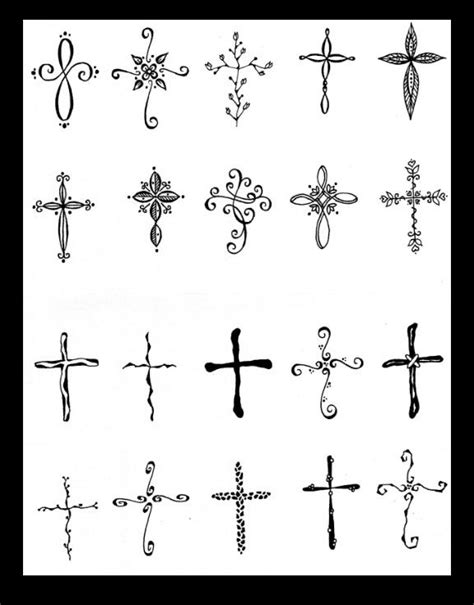 what to add to a cross tattoo cross ideas to add between words faith and grace of