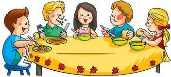 kinder am tisch tisch mit essen clipart bbcpersian7 collections