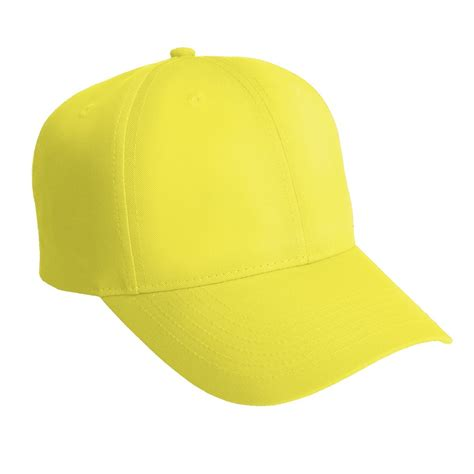 Ssc Bomber Ml port authority c806 solid enhanced visibility cap safety yellow fullsource