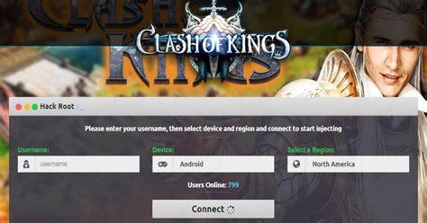tutorial hack clash of kings cara cheat clash of kings terbaru unlimited wood gold