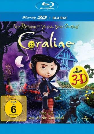 Coraline 2d 3d 1 Disc coraline 3d 3d 2d