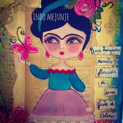 cuadros frida kahlo cuadro frida florecida 161 frida kahlo pinterest