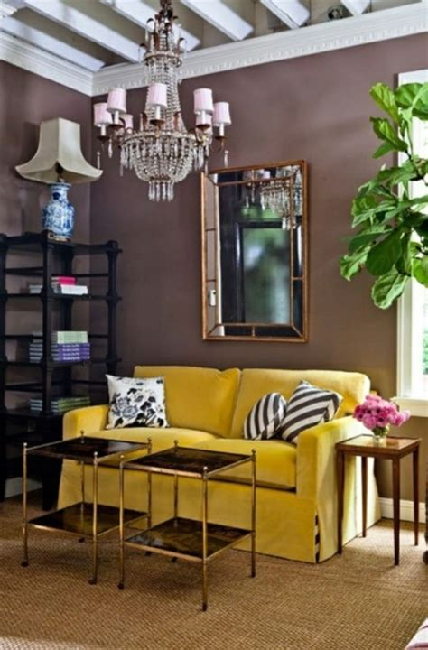 yellow couch living room would you ever try a yellow sofa style edition blog