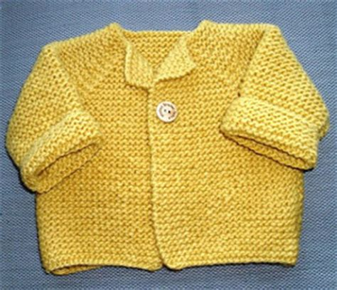 free garter stitch baby knitting patterns garter stitch baby cardigan allfreeknitting