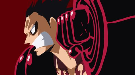 Kaos Onepiece Monkey D Luffy Shadow the gallery for gt one luffy gear 4