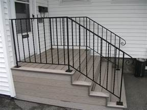 exterior handrail designs iron railings for stairs exterior wrought iron railing