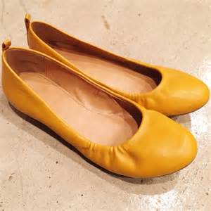 mustard colored flats forever 21 mustard yellow flats from s closet on