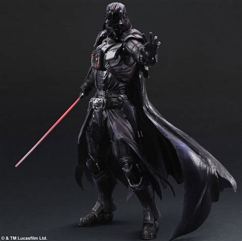 Ad4264 Figure Play Arts No 3 Stormtrooper Wars Kode Gute4130 darth vader variant figure with radical lightsaber attachment geektyrant