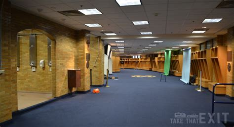 notre dame locker room notre dame football stadium tour plus our time to culver s south bend indiana