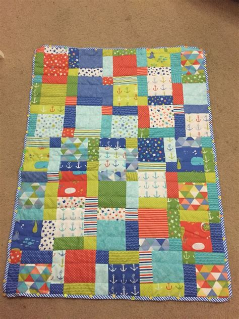 Quilt Fabric For Boys boys quilt from moda bartholomeows reef fabric quilting boys moda and quilt