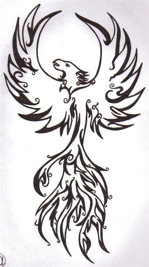 tribal tattoo outline black outline tribal stencil by