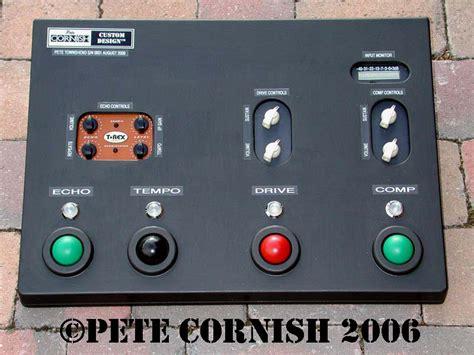 pedal board design pete cornish custom effects pedal board pete townshend s