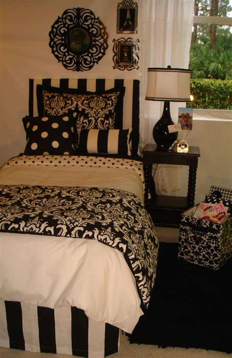 white dorm bedding black and white damask dorm room bedding and dorm decor decor 2 ur door