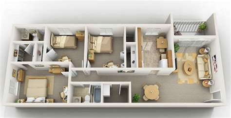 floor plans for small 2 bedroom houses