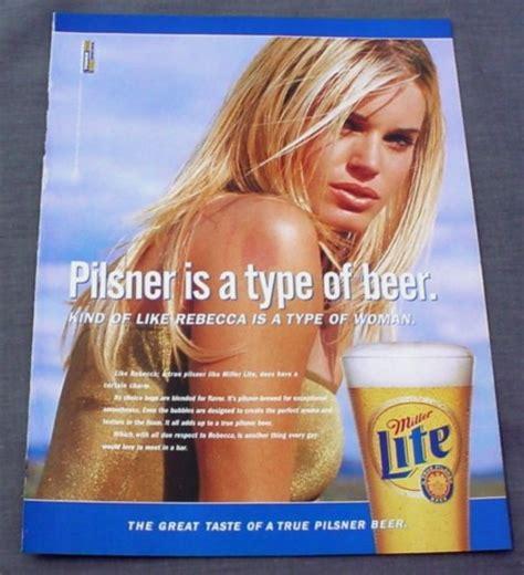 Carbs In Coors Light Magazine Ad For Miller Lite Beer Rebecca Romijn Stamos