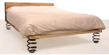 Are Waterbeds Comfortable Springy Bed With Car Suspension Parts Neatorama
