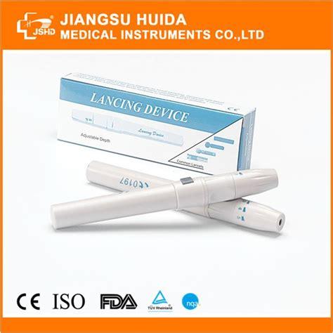Blood Lancing Device Magic disposable adjustable automatic lancing device blood lancet pen buy blood lancet pen