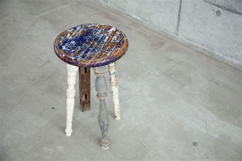 Upcycled Stool by Ryo Chohashi Include Second In His Furniture Work