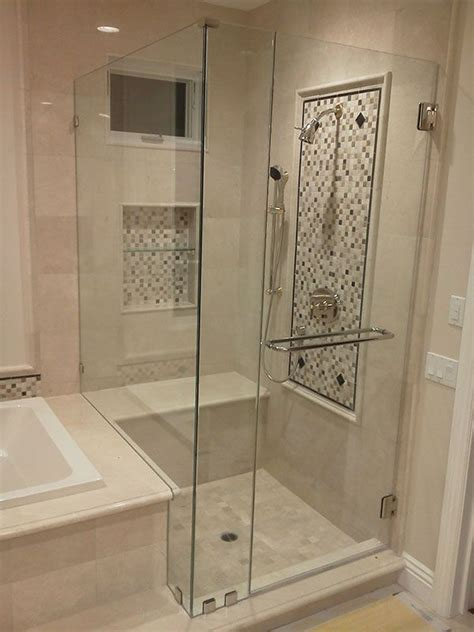 seamless shower door best 25 frameless shower doors ideas on glass