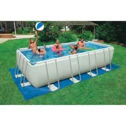 intex 18 x 9 x 52 quot ultra frame swimming pool walmart