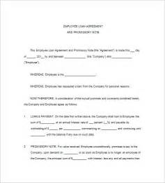promissory agreement template 10 loan promissory note templates free sle exle