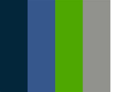 Shrewin Williams by Seahawks Color Palette
