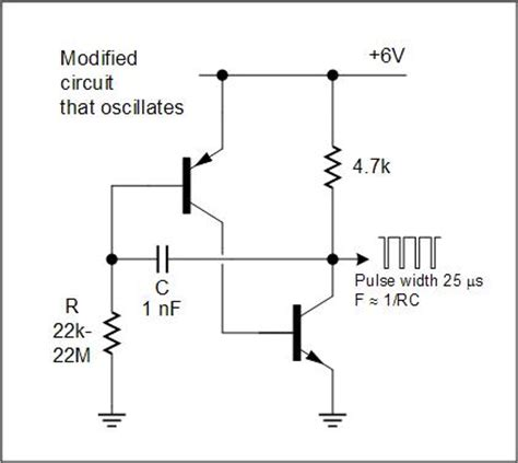 transistor oscillator michael covington s daily notebook